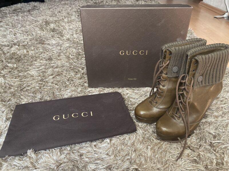 GUCCI ORIGINAL Ankle Boots 38
