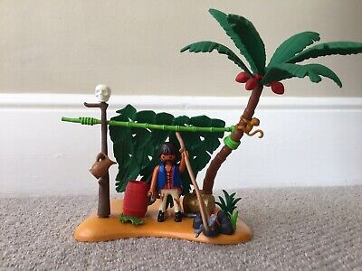 Playmobil - Set 5138 - Cast Away on Palm Island - Complete