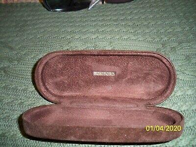 Genuine TOM FORD Brown Velvet Plush Clam Hard Sunglasses Glasses Clamshell (Tom Ford Glasses Case)