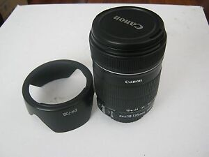 Canon EF-S 18-135 mm f3.5 -5.6 IS lens as NEW condition Greenwich Lane Cove Area Preview