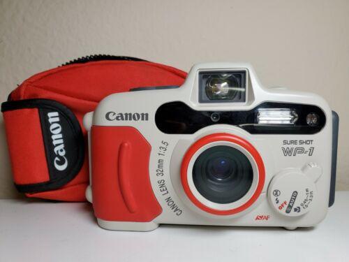 Canon Sure Shot WP-1 Includes Battery 35mm PRISTINE CONDITION  - $84.95