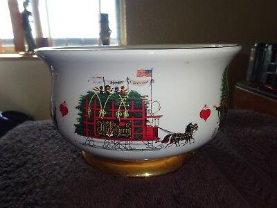 Christmas Love Centerpiece Bowl Teleflora Wysocki 1999 - 2000 Dish 4.5 x 7.75 ()