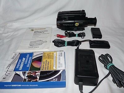 Видеокамеры Sony Handycam CCD-TR44 8mm Video8