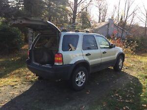 Ford Escape 2003 4x4