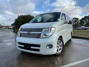 2010 Nissan Elgrand ME51 HighWay Star 8 Seater Automatic Wagon Thomastown Whittlesea Area Preview