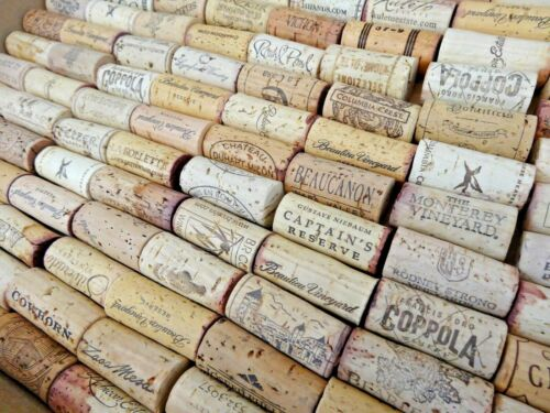 Assorted PREMIUM Solid Real NATURAL Used Wine Corks Lots 10 20 30 40 50 100 200