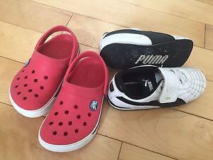Crocks & Puma sneakers