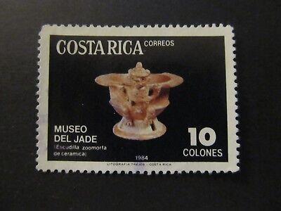 1984 - COSTA RICA - DISH - SCOTT 303 A139 10COL Costa Rica Dishes