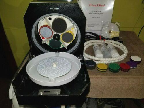 RTI ELM Senior Disc Repair Machine CD DVD Blu-Ray Game Cube Resurfacing System