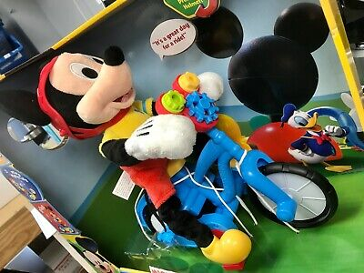 Mickey Mouse 19486 Clubhouse Boppin 'Bikin Plush by Mickey Mouse