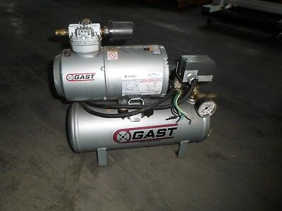 Gast 1hab-11t-m100x Air Compressor W 5kh33gn293hx 16 Hp Fr 48y 1725 Rpm Motor