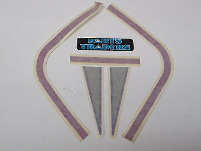 NOS Polaris Snowmobile Hood Nosecone Decals Set of 5 96 Indy Ultra 680SP