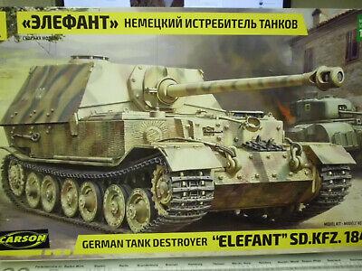 Zvezda 3659 1:35 Deutscher Panzer Elefant Sd.Kfz. 184 NEU OVP