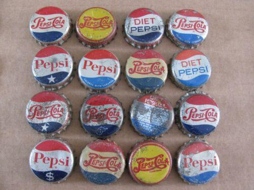 16  PEPSI PEPSI cola  SODA CORK SODA BOTTLE CAPS VINTAGE COLLECTIBLE  LOT 2