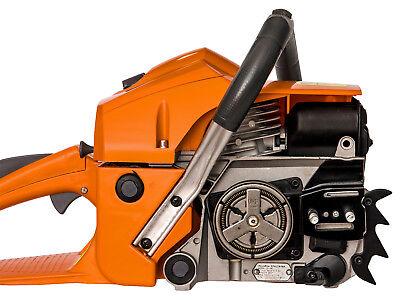 Benzin Motorsäge Motorkettensäge Kettensäge 3 Ketten 2 Schwerter(Z-DEM-CS58T)