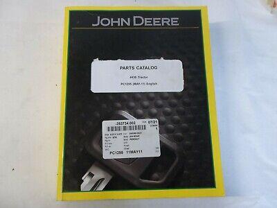 John Deere 4430 Tractor Pc1295 Parts Catalog