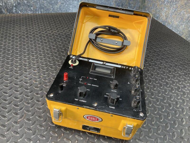 Biddle/Megger Digital Earth Tester DET 2/110