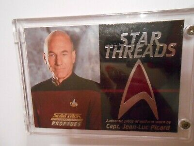 Star Trek Next Generation Uniforms (NMBR# 1072  (2000) STAR TREK THE NEXT GENERATION PROFILE UNIFORM STAR)