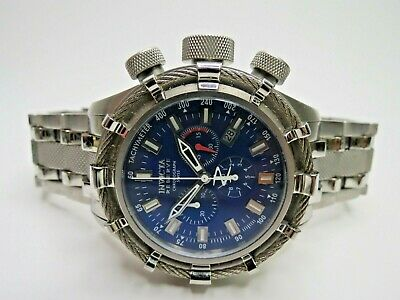 Invicta Reserve Men's Bolt Chronograph Watch Blue F0001