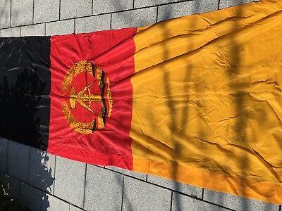 DDR NVA 100% ORIGINAL Dienstflagge  neuwertig um 1980 Fahne 100x300 cm Flagge