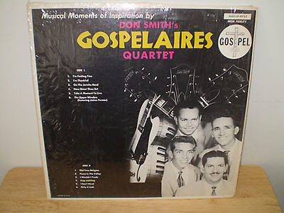 """DON SMITH'S GOSPELAIRES QUARTET...""""MUSICAL MOMENTS OF INSPIRATION BY"""".....HTF LP"""