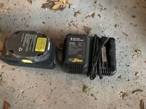 Cordless Yardworks Grass Trimmer with 2 chargers and 2 batteries