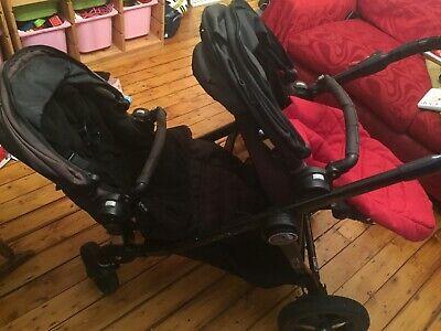 Baby Jogger City Select Double Seat Black Pram