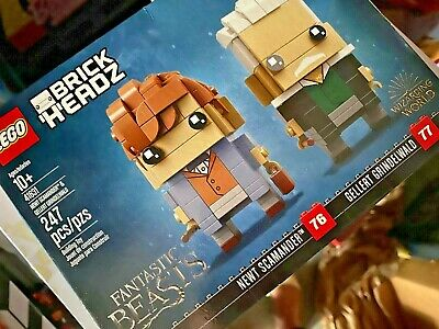 NEW! LEGO BRICK HEADZ FANTASTIC BEASTS 41631 NEWT SCAMANDER/GELLERT GRINDELWALD