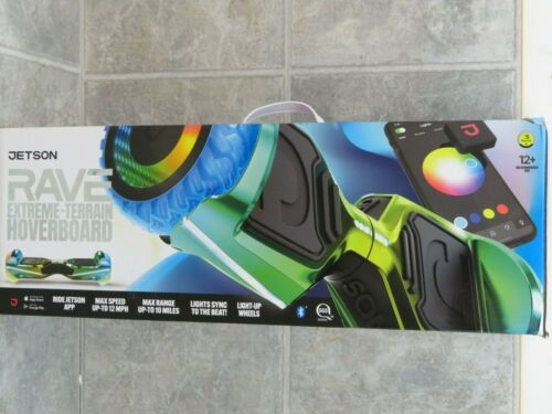 Jetson Rave Extreme Terrain Hover Scooter Cosmic Light-up wheels