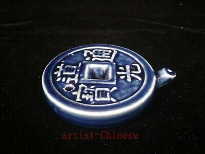 Collection Ancient Chinese Porcelain Coin Shape Water Washing use Ink Decoration