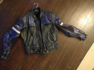 Leather Motorcycle Jacket and Pants