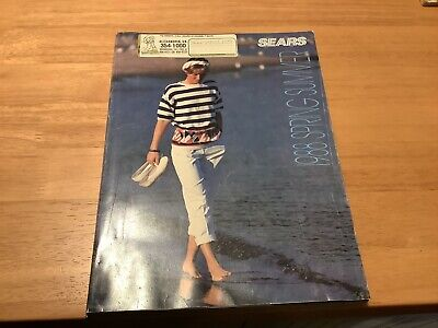 1988 Spring Summer Sears Catalog Fashion Clothing Household Electronics