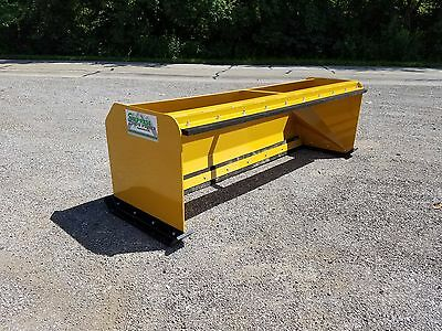 8 Snow Pusher Boxes With Pullback Bar - Skid Steer Bobcat - Local Pick Up