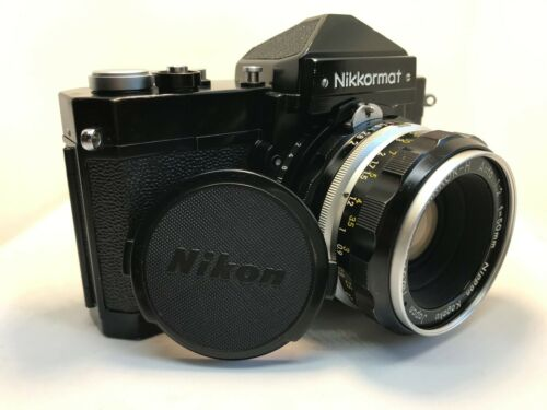 Black Nikkormat FT. Tested Replaced light seals