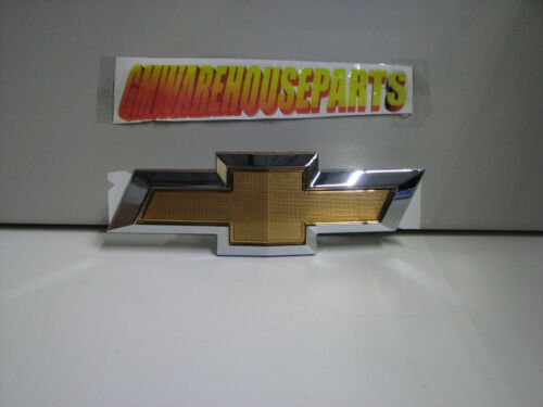 Chevrolet Sonic Gold Chrome Front Bumper Grille Bow Tie Emblem new OE 95122465