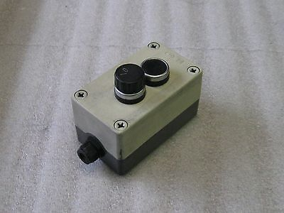 Klockner Moeller  Plastic 2 Push Button Enclosure, Used, Warranty
