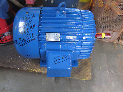 50 HP Electric Motor AC Delco