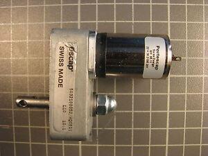 DC Getriebemotor escap L10 22V 1:10 neu