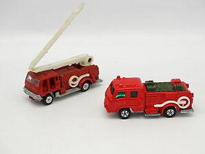 Tomica-1-110-1-90-Condor-e-Squrt-Fire-Engine-Vigili-del-fuoco-Giappone