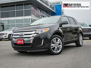 2014 Ford Edge LIMITED, NAV, PANO SUNROOF, LEATHER