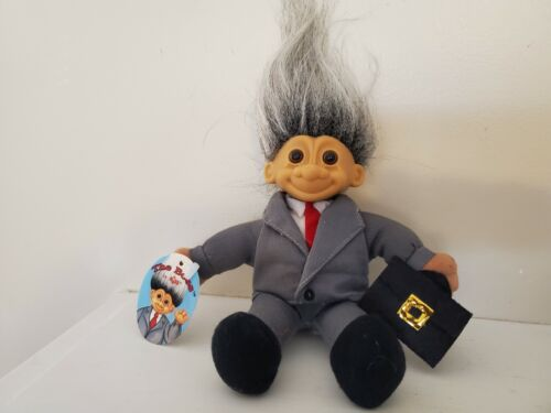 """Last Ones NEW STORE STOCK 6/"""" Russ Soft Troll Doll THE BOSS"""