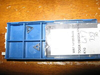 New Lot Of 7 Komet Boring Bar Carbide Insert W57 14120.0423 Grade- K10