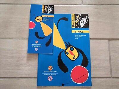 Programme Manchester United - FC Barcelona 1999 Champions League FINAL