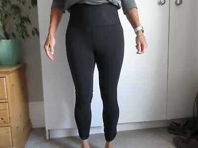 Lulu Lemon Black, Running / Workout Leggings, Size 10