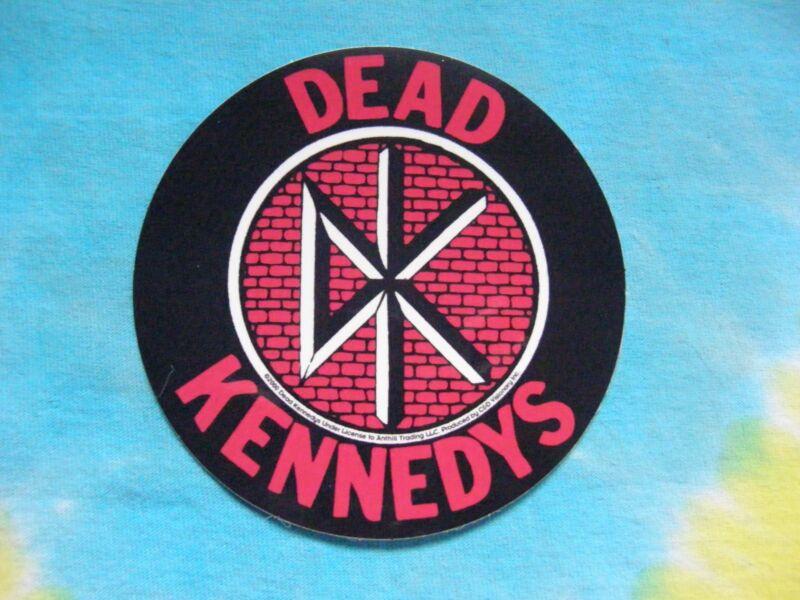 Dead Kennedys Brick Logo 4 Inch Sticker
