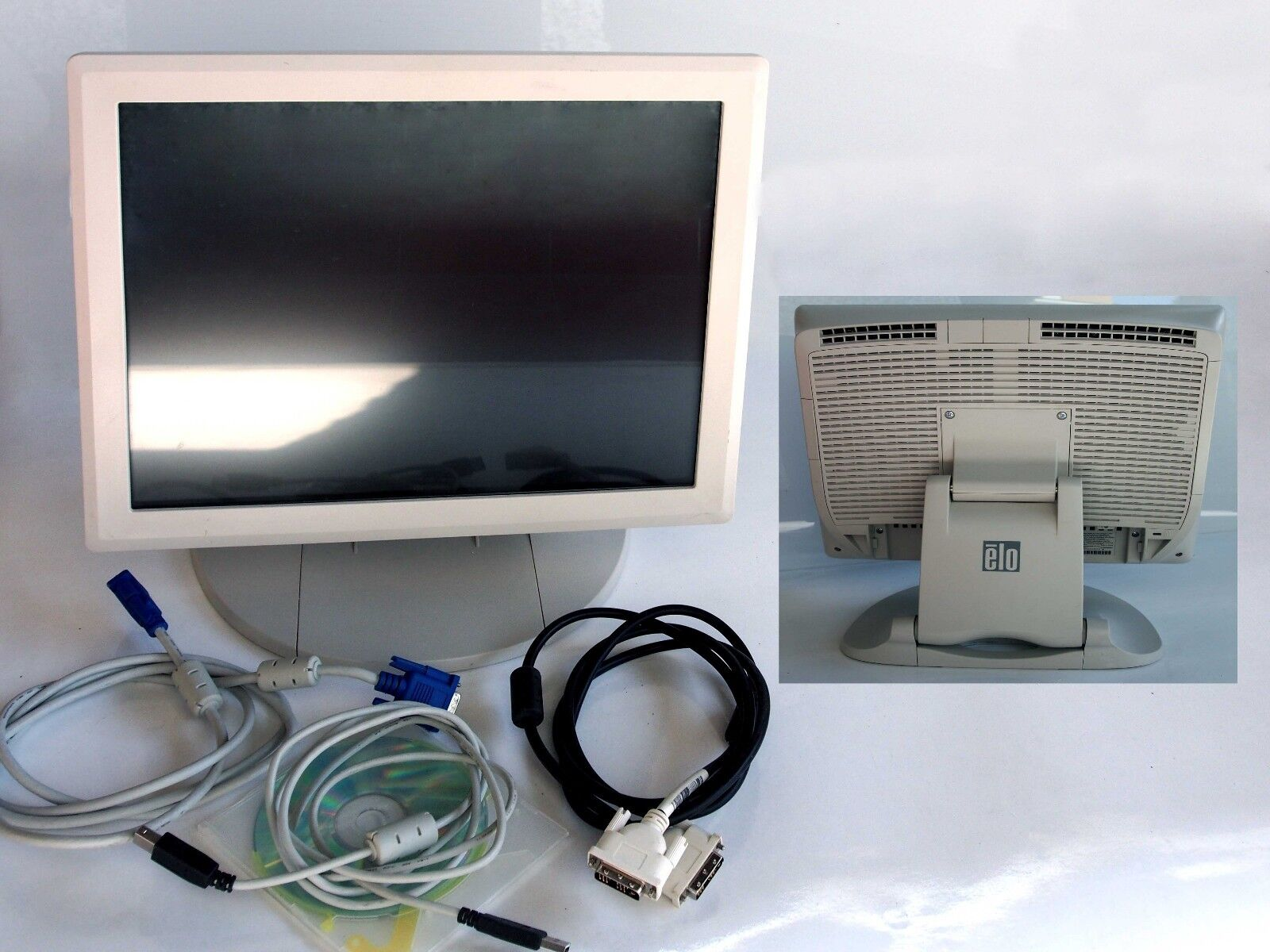 Monitor per computer Touchscreen ELO ET1729L video DVI Touchmonitor Touchsystem