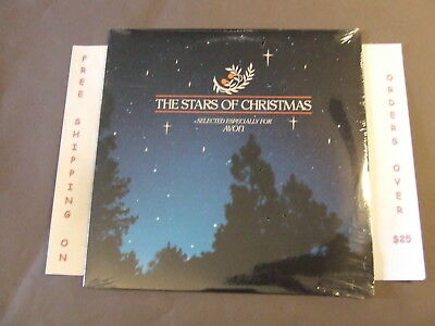 SEALED THE STARS OF CHRISTMAS AVON LP W/ ELVIS PRESLEY, CARPENTERS, BING CROSBY