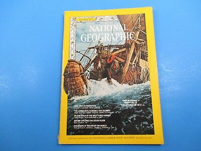 National Geographic Magazine January 1971 Deep Star Explores The Ocean (Trench Ocean Floor)