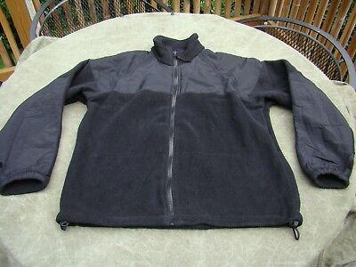 Navy NWU GORE-TEX PARKA LINER Black Polartec Fleece Jacket  Small / Extra Short