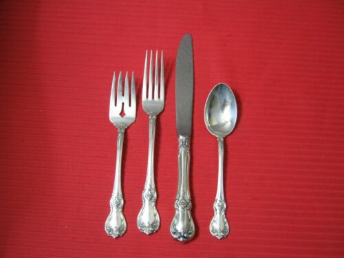 Towle OLD MASTER Sterling 4-Piece Place Setting.   No Monogram
